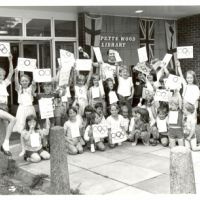LB Bromley, Olympics celebrations at Petts Wood Library, 1984