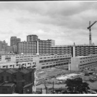 LB Southwark, construction of the Heygate estate, 1973