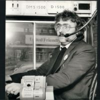 LB Ealing, bus fitted with two-way radio, 1978