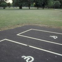 LB Tower Hamlets, disabled parking spaces in Victoria Park, 1990s