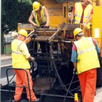 LB Waltham Forest, road repairs in Waltham Forest, 1994