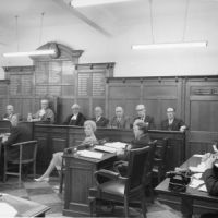 LB Merton, one of the last meetings of Mitcham Borough Council, 1964