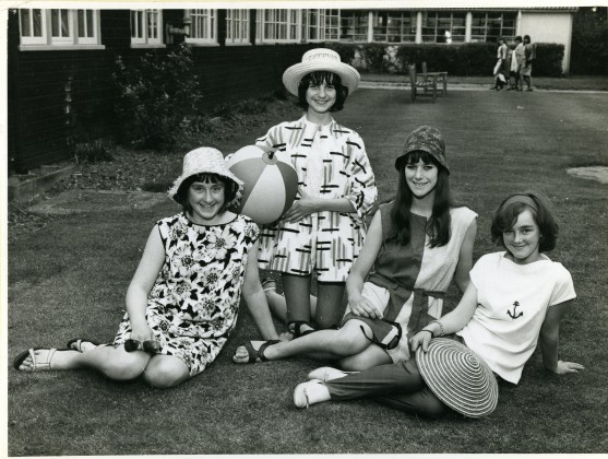 LB Bexley, dressmaking class at Bexleyheath Girls School, c. 1965