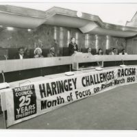 LB Haringey, Haringey Council month of focus on racism, 1990