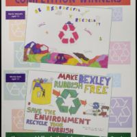 LB Bexley, recycling poster competition, 1996