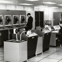 LB Hackney, the council's computer section, 1967