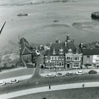LB Bexley, Erith Police Station on the bank of the Thames, 1978